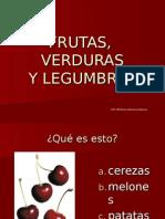 LEXICO ESPANOL Frutas Verduras y Legumbres Copy
