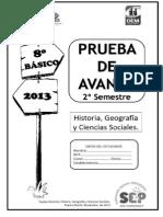8b Prueba de Avance 2015