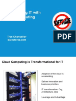 Transforming IT With Cloud Computing Presentation