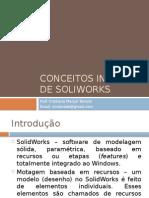 Conceitos Iniciais de Soliworks