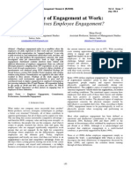 Engagement at Work