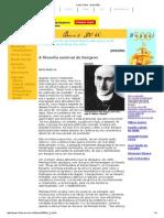 PRADO JR., Bento. a Filosofia Seminal de Bergson