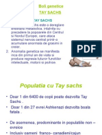 Boala Genetica Thay Sachs