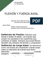 FLEXIÓN Y FUERZA AXIAL.pptx