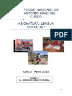 Lengua Quechua