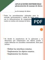 3.1 Diseño e Implementacion de Manejo de Datos