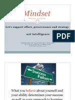 PDF Carol Dweck Mindset Presentation January 20 2015