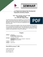 High Arctic Gas Invitation