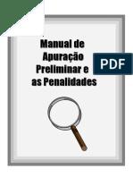 MANUAL - Apuração Preliminar e Penalidades