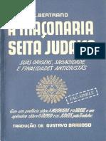 A Maçonaria Seita Judaica - l. Bertrand (Tradução G. Barroso)