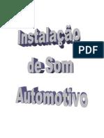 Instalação Som Automotivo