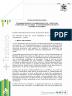 Convocatoria Aprendices Chile 2015