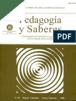 Didáctica de Las CS.pedagogia y Saberes.