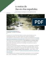 Peces Con Restos de Insecticidas en Ríos Españoles
