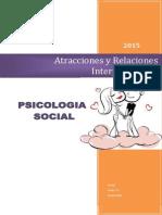 Atracciones y Relaciones Interpersonales