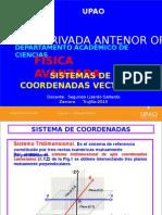 1. Sistemas de Coordenadas y Vectores