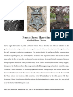 Francis Snow Hesseltine - Medal of Honor Citation