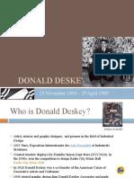 Donald Deskey