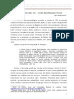 A Historiografia Brasileira Sobre o Trabalho Entre Thompson e Foucault