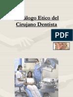 Declogo Etico Del Cirujano Dentista