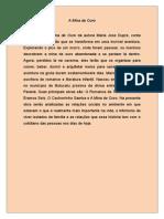 Resumo do Livro Mina de Ouro de Maria José Dupré - 7º Ano (Atividades)