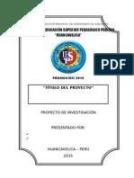Esquema - Proyecto de Investigacion Etnográfica Educativa