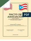 Pacto de Asociacion - Antonio J. Fas Alzamora