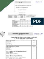 Planificação Transdisciplinar Anual