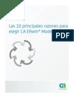 10 Razones10 Razones principales para elegir ERWin. Principales Para Elegir ERWin