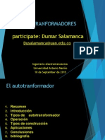 Presentacion de Autotransformadores