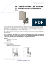Poynting 4G XPOL A0001 Datasheet