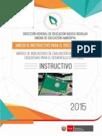 UEA Instructivo Para El Uso de La Matriz de Evaluacion de La Aplicación Del Enfoque Ambiental 2015 (2)