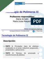 Introducción a Tecnoalogía de Polímeros II (1)