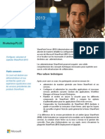 WorkshopPLUS SharePoint Server2013 Administration