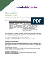 Brasil Republica_Reoublica Velha