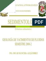 Sedimentologia-Estructuras Sedimentarias