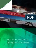 ELEVEN, A Culture of Design