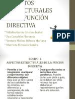 Aspectos Estructurales de la Función Directiva