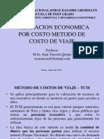 METODO DE VALORACION COSTO VIAJE