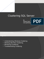 Clustering SQL server Active-active-passive