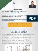 Diapositivas Altimetría