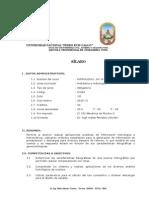 Silabo Hidrologia 2015 II