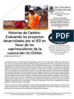Newsletter # 1 Spanish