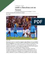 Roma Sorprendió a Barcelona Con Un Golazo de Florenzi