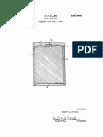 Fire Cartridge - US Patent 3457860