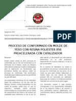 Articulo Procesos Yeso Resina