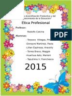 Ética Profesiónal 1 Monograafia