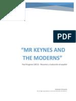 Resumen Mr Keynes and the Moderns Krugman 2011