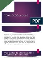 TOXICOLOGIA DL50