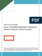 Filosofía Cristiana y Medieval